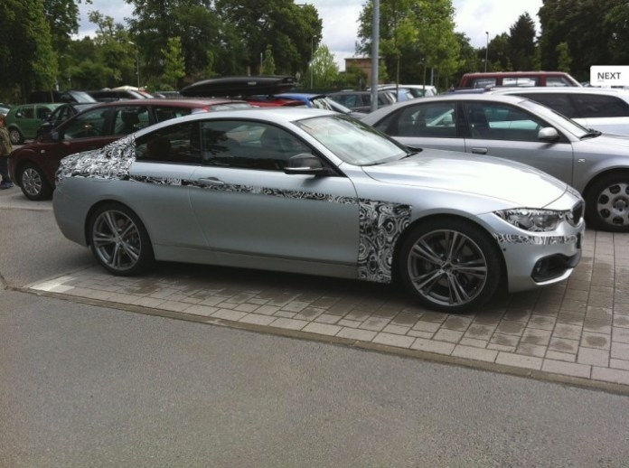 BMW 4 Series Coupe spy Photos (3)