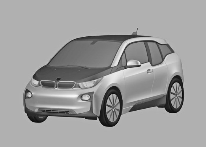 BMW i3 production version patent drawings (5)