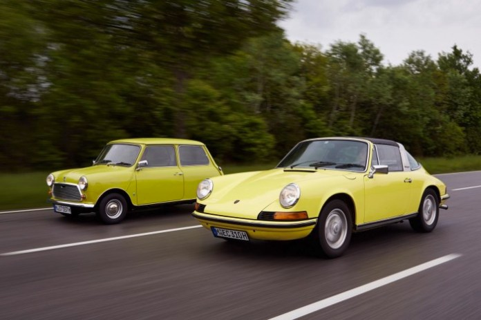Classic Mini and Porsche 911 (32)