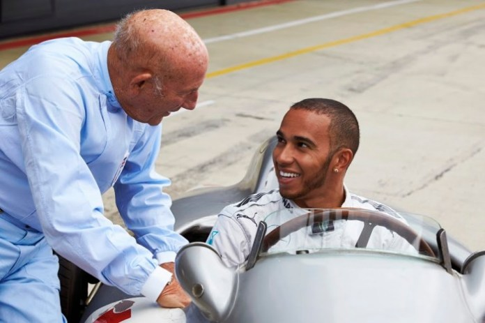 Lewis Hamilton meet Stirling Moss (5)