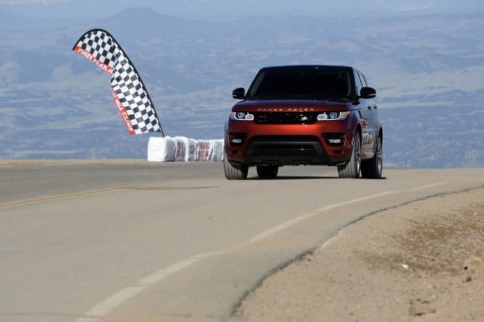 Range Rover Sport 2013 sets Pikes Peak Hill Climb record (2)