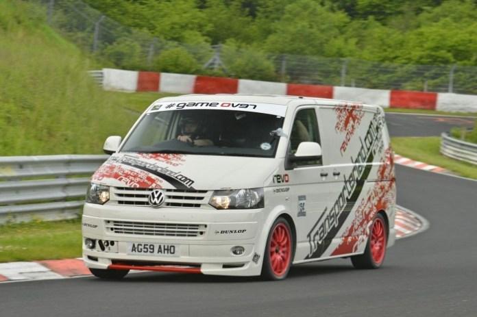 Revo-Volkswagen-T5-sets-Nurburgring-van-lap-record