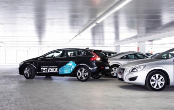 Volvo V40 Autonomous Parking Concept (4)