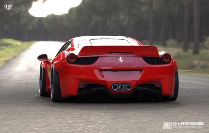 Liberty Walk Performance Ferrari 458 Italia