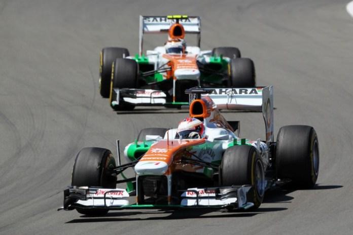 Motor Racing - Formula One World Championship - German Grand Prix - Race Day - Nurburgring, Germany