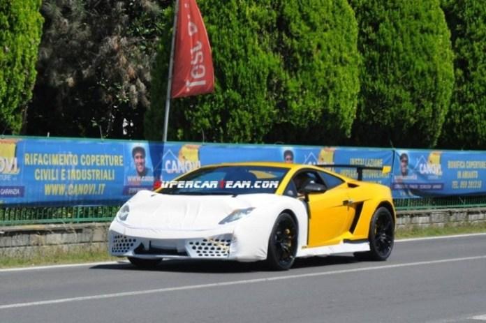 Lamborghini Gallardo Squadra Corsa Spy Photos (1)