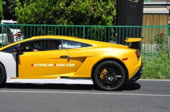 Lamborghini Gallardo Squadra Corsa Spy Photos (2)