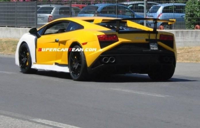 Lamborghini Gallardo Squadra Corsa Spy Photos (3)