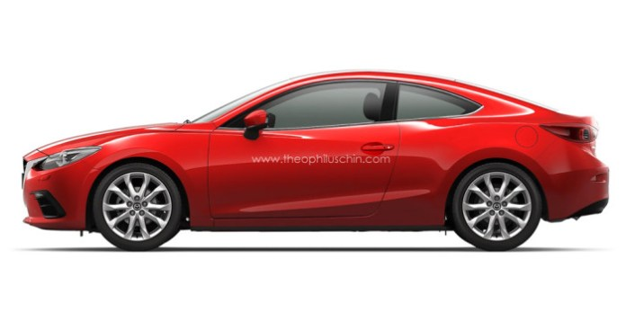 Mazda3 Coupe Rendering (2)
