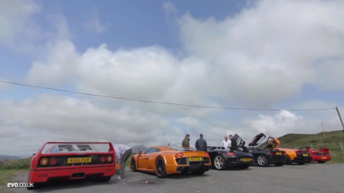 McLaren F1 vs supercar rivals