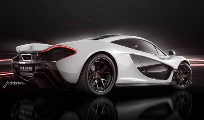 McLaren P1 with HRE Wheels (1)