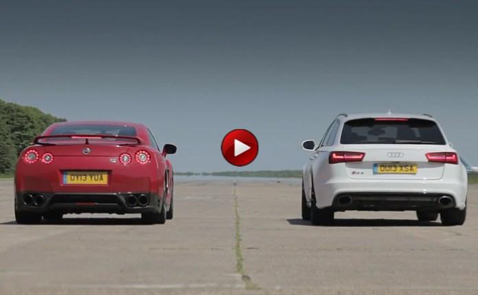 Nissan GT-R Vs Audi RS 6