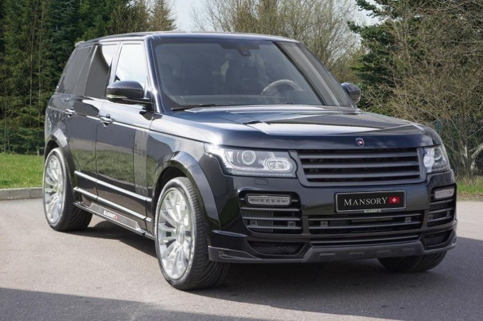 Range Rover Vogue by Mansory (1)