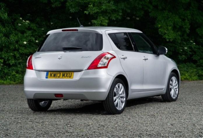 Suzuki Swift facelift 2013 (3)