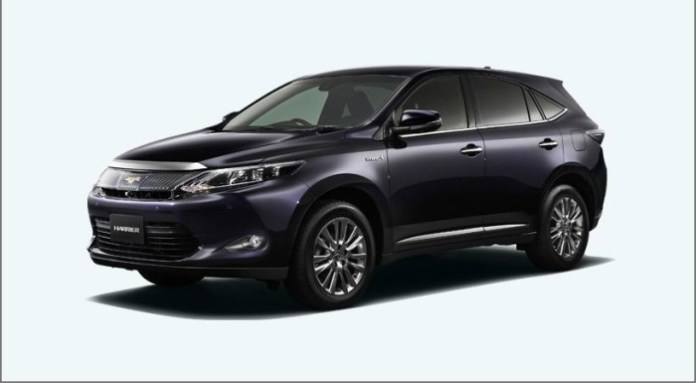 Toyota Harrier 2014 (1)