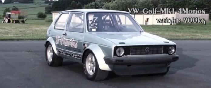 VW Golf Mk1 4Motion DSG