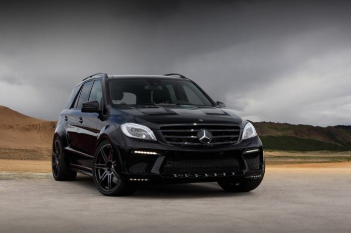 Mercedes-Benz ML63 AMG Inferno Black by TopCar