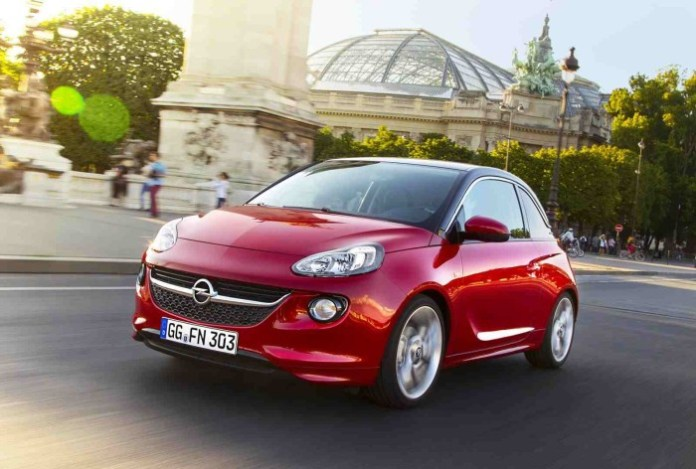 Opel Adam with 1.0-liter SIDI Turbo