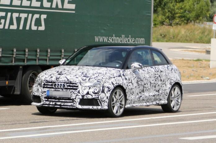 Audi S1 2014 Spy Photos (2)