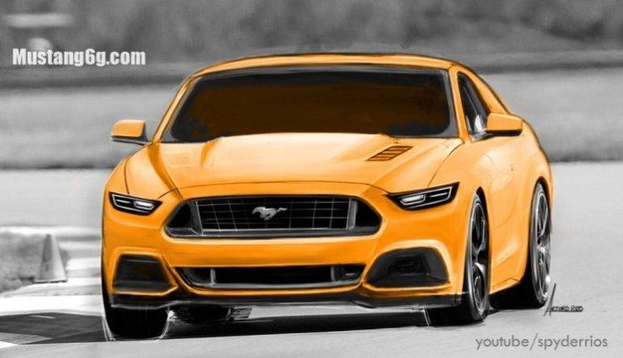 Ford Mustang 2015 Renderings (2)