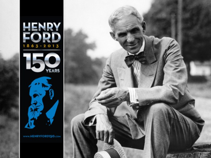 Henry Ford 150th Birthday Celebration Hero