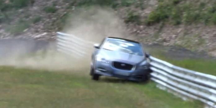 Jaguar XJ CRASH @ Nordschleife