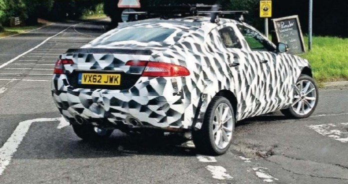 Jaguar XQ mule