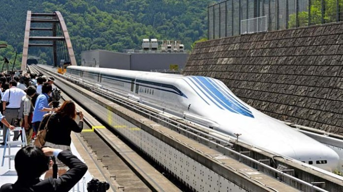 New Maglev Train 'L0' Series Unveils