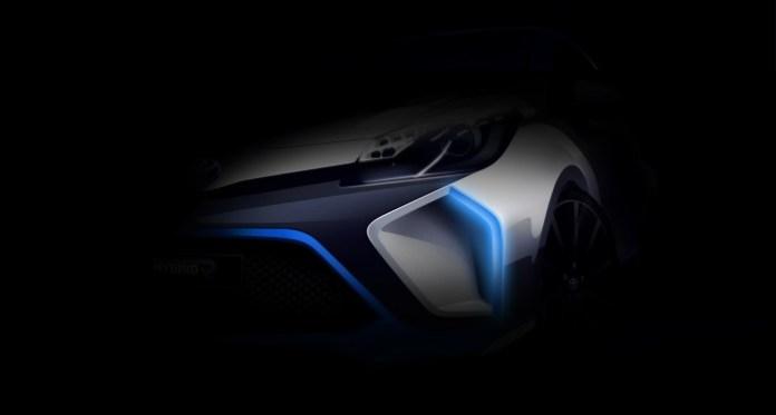 Teaser Photo Toyota Hybrid-R Concept