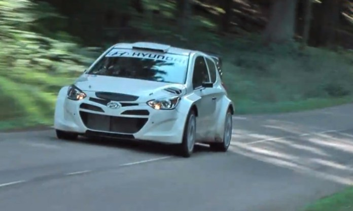 Test Hyundai I20 WRC 2013 HD