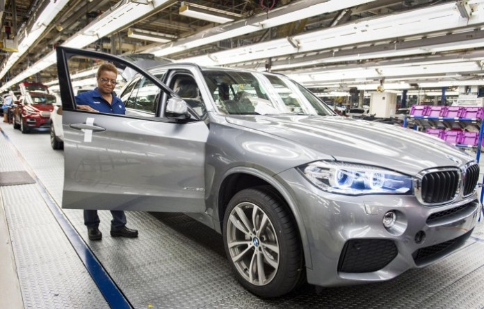 bmw x5 production plant