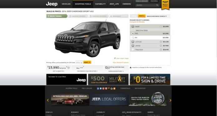 jeep cherokee config