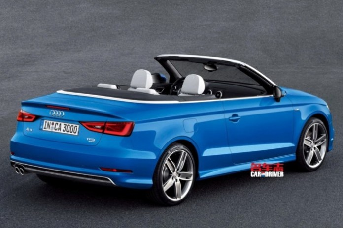 Audi A3 Cabriolet leaked (3)