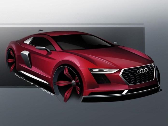 Audi R8 2015 Renderings (3)