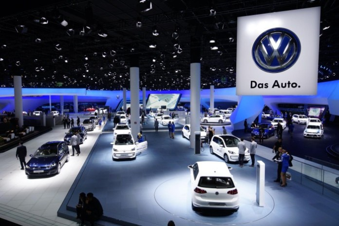 Audi and VW Stands in Frankfurt 2013 (1)