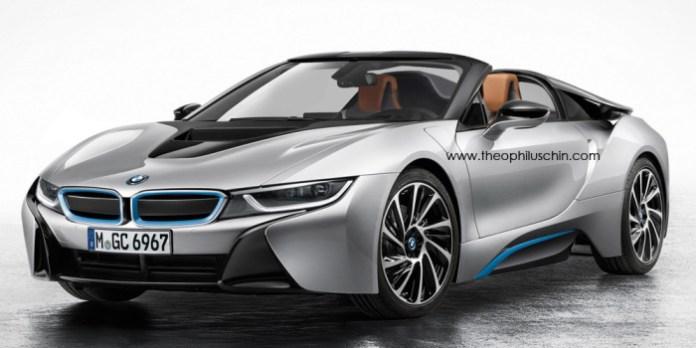 BMW i8 Spyder Renderings (1)