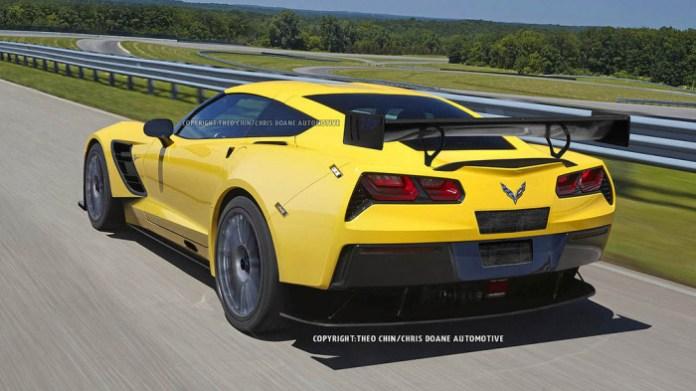 Chevrolet Corvette C7R renderings (2)