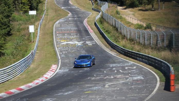 Corvette Stingray testing at Nürburgring