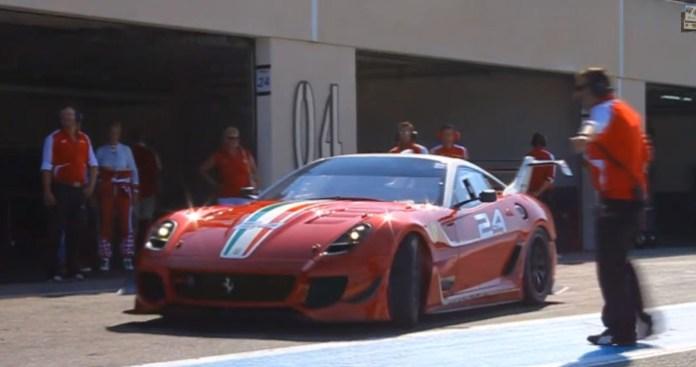 Ferrari 599XX EVO - Ride, Flames, EPIC SOUNDS!!!