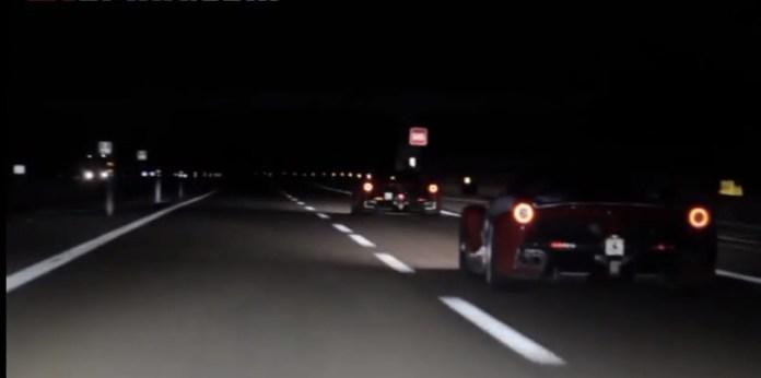 First Ferrari LaFerrari High Speed Highway & Acceleration Video
