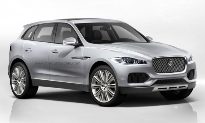 Jaguar C-X17 renderings (1)