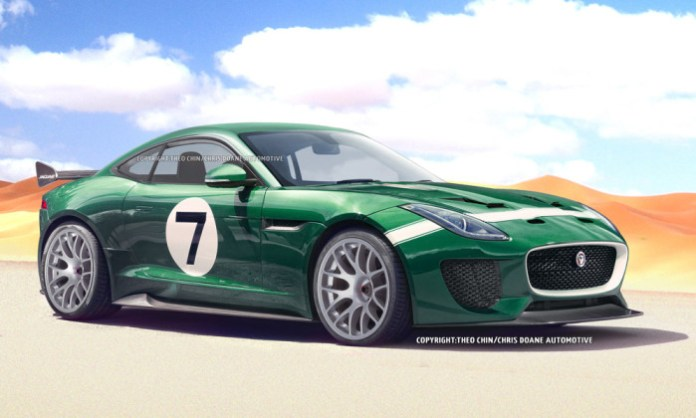 Jaguar F-Type GT3 rendering (2)