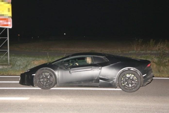 Lamborghini Cabrera Spy Photos (7)