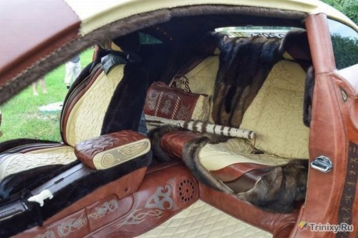 Leather Russian Car (7)