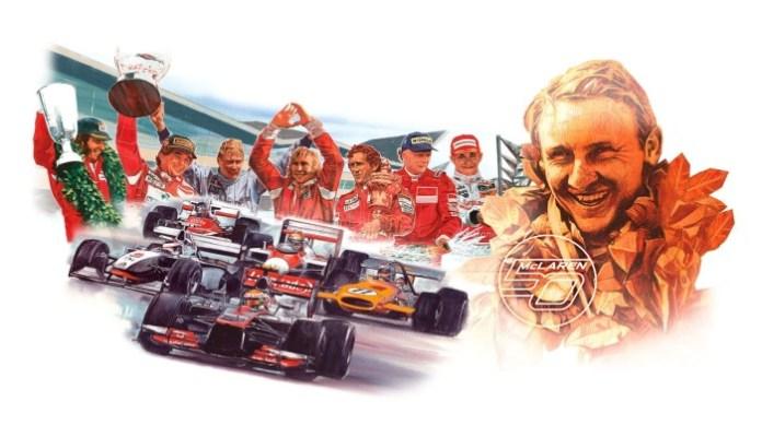 McLaren celebrates half century (3)