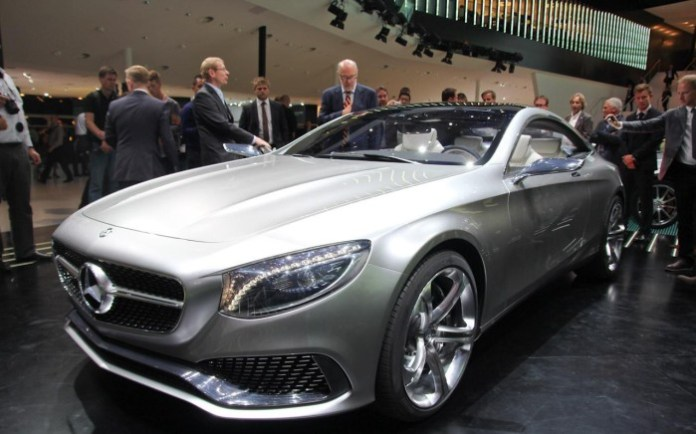 Mercedes-Benz S-Class Coupe Concept Live in Frankfurt 2013 (7)