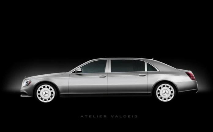 Mercedes S-Class Pullman Rendering