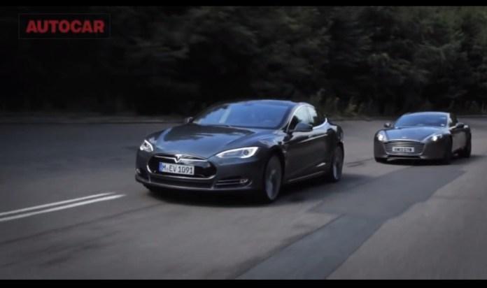 Model S vs Rapide S