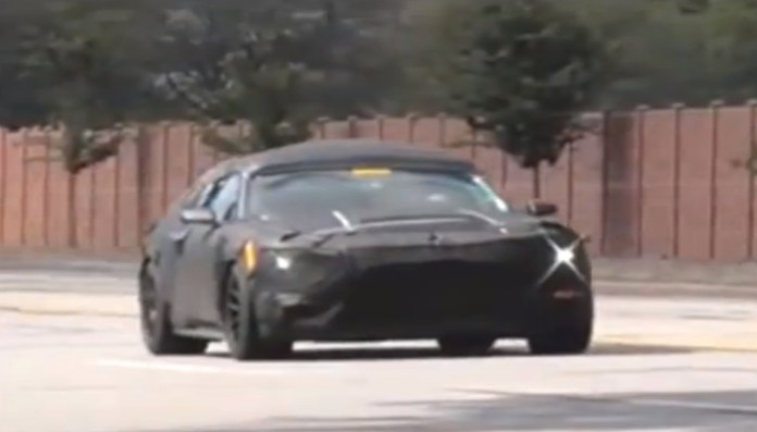 Mustang GT350 SVT Model Spied on Video for First Time!! Mustang GT350 SVT Model Spied on Video for First Time!!