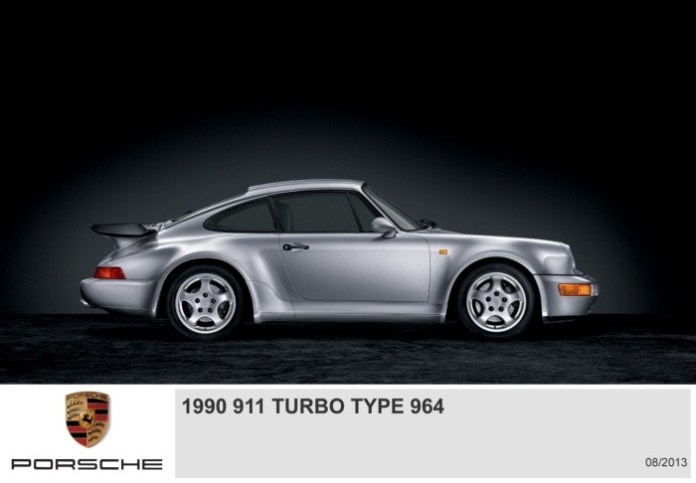 Porsche 911 Turbo Generations (3)